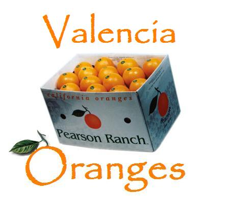California Valencia Oranges - 40 lbs.