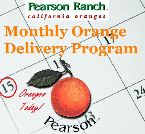 Monthly Orange Delivery - 40 lbs.