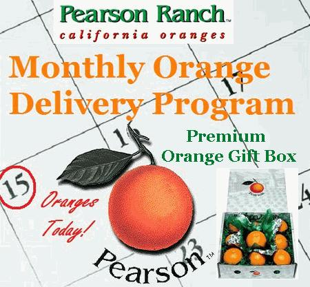 Monthly Orange Delivery - Gift Box