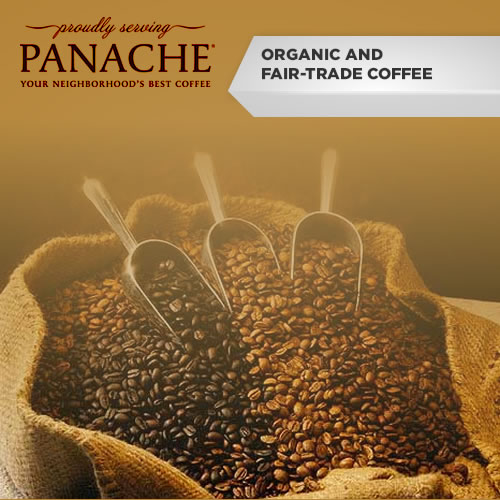 Panache Organic & Fair Trade Coffee