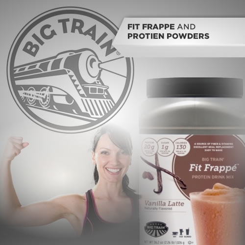 Big Train's Fit Frappes/ Protein Powders