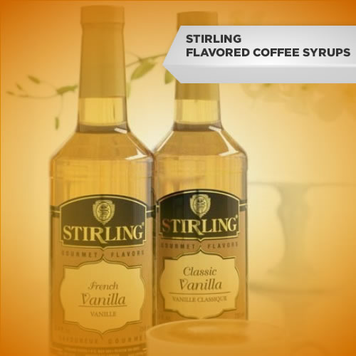 Stirling Flavored Coffee Syrups...