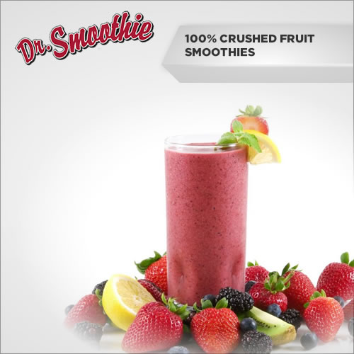Dr. Smoothie 100% Crushed Fruit Smoothies
