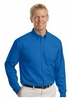 TLS608 MENS EASY CARE SHIRT - TALL SIZING - w / emb. logo
