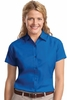 L508 LADIES SHORT SLEEVE DRESS SHIRT w / emb. logo