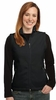 L219 WOMENS SOFT FLEECE, FULL ZIP VEST w / emb. logo