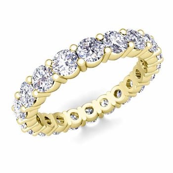 Diamond Eternity Ring Band in 18k Gold 1.60 cttw