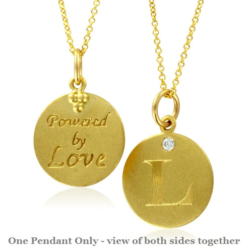 Initial necklace letter l diamond pendant with 18k yellow gold chain initial necklace letter l diamond pendant with 18k yellow gold chain necklace aloadofball Choice Image