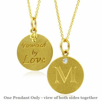 Initial necklace letter m diamond pendant with 18k yellow gold chain initial necklace letter m diamond pendant with 18k yellow gold chain necklace aloadofball Image collections