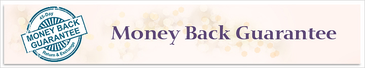 Money Back Guarantee, 45-Day-Return | My Love Wedding Ring