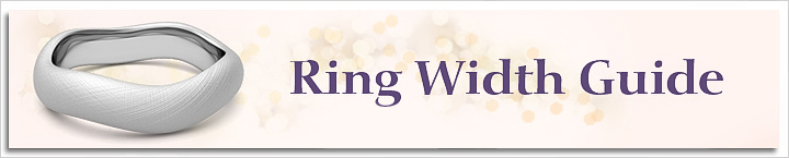 Wedding Band Width Chart Guide To Wedding Rings My Love Wedding Ring