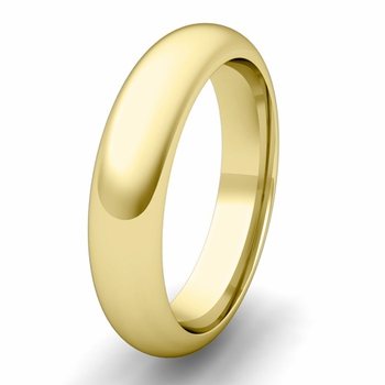 Dome Comfort Fit Wedding Band