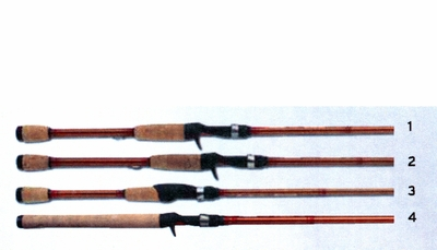 Lamiglas excel bass muskie freshwater casting and for Lamiglas fishing rods
