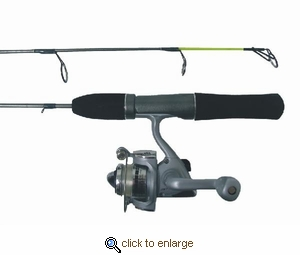 Ht enterprises woodsman ice fishing combos for Ht ice fishing