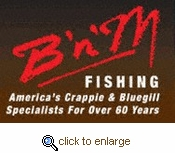 B n M Rod and Reel Combos