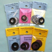 Smooth Drag Replacement Reel Washers Carbontex - Shimano