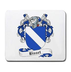 Bisset Coat of Arms Mouse Pad