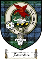 Allardice Clan Badge / Tartan FREE preview
