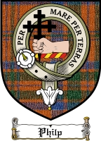 Philp Clan Badge / Tartan FREE preview