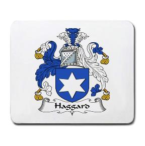 Haggard Coat of Arms Mouse Pad