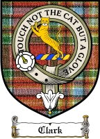 Clark Clan Macintosh Clan Badge / Tartan FREE preview