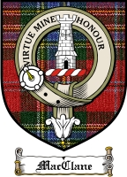 Macclane Clan Badge / Tartan FREE preview