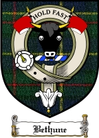 Bethune Clan Macleod Clan Badge / Tartan FREE preview