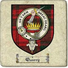 Quarry Clan Badge Marble Tile