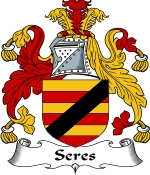 Seres Family Crest / Seres Coat of Arms JPG Download
