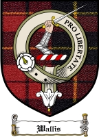 Wallis Clan Badge / Tartan FREE preview