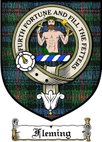 Fleming Clan Murray Clan Badge / Tartan FREE preview