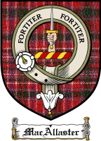 Macallaster Clan Badge / Tartan FREE preview