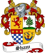Shaw Family Crest / Shaw Coat of Arms JPG Download