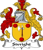 Sivright Family Crest / Sivright Coat of Arms JPG Download