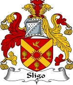 Sligo Family Crest / Sligo Coat of Arms JPG Download