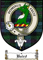 Baird Clan Badge / Tartan FREE preview