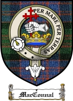 Macconnal Clan Badge / Tartan FREE preview