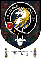 Donlevy Clan Badge / Tartan FREE preview