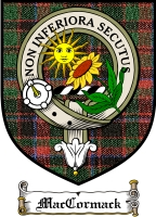 Maccormack Clan Badge / Tartan FREE preview