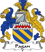 Pagan Family Crest / Pagan Coat of Arms JPG Download