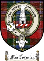 Maccormick Clan Badge / Tartan FREE preview