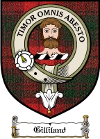 Gilliland Clan Badge / Tartan FREE preview