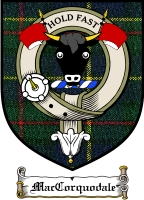 Maccorquodale Clan Badge / Tartan FREE preview
