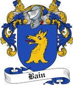 Bain Family Crest / Bain Coat of Arms JPG Download