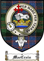 Maccrain Clan Badge / Tartan FREE preview