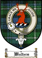 Walters Clan Badge / Tartan FREE preview