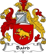 Baird Family Crest / Baird Coat of Arms JPG Download