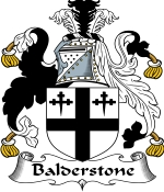 Balderstone Family Crest / Balderstone Coat of Arms JPG Download