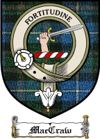 Maccraw Clan Badge / Tartan FREE preview