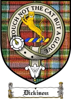 Dickison Clan Badge / Tartan FREE preview